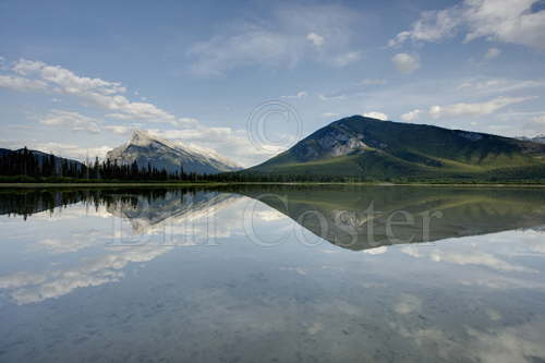 Mount Rundle & Sulphur Mountain