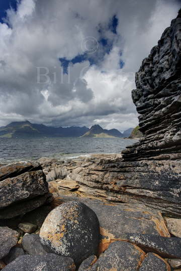 Cullins from Elgol Beach